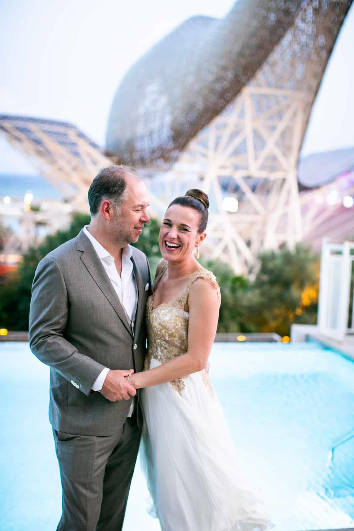 Hotel Arts Barcelona Wedding Photos - Meta & Michiel, 2019