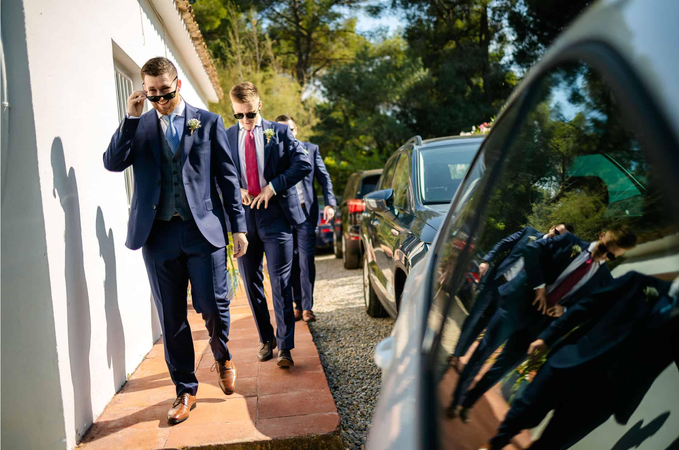 Can Pares Sitges Barcelona Wedding Photos - Lauren & Stephen, 2019