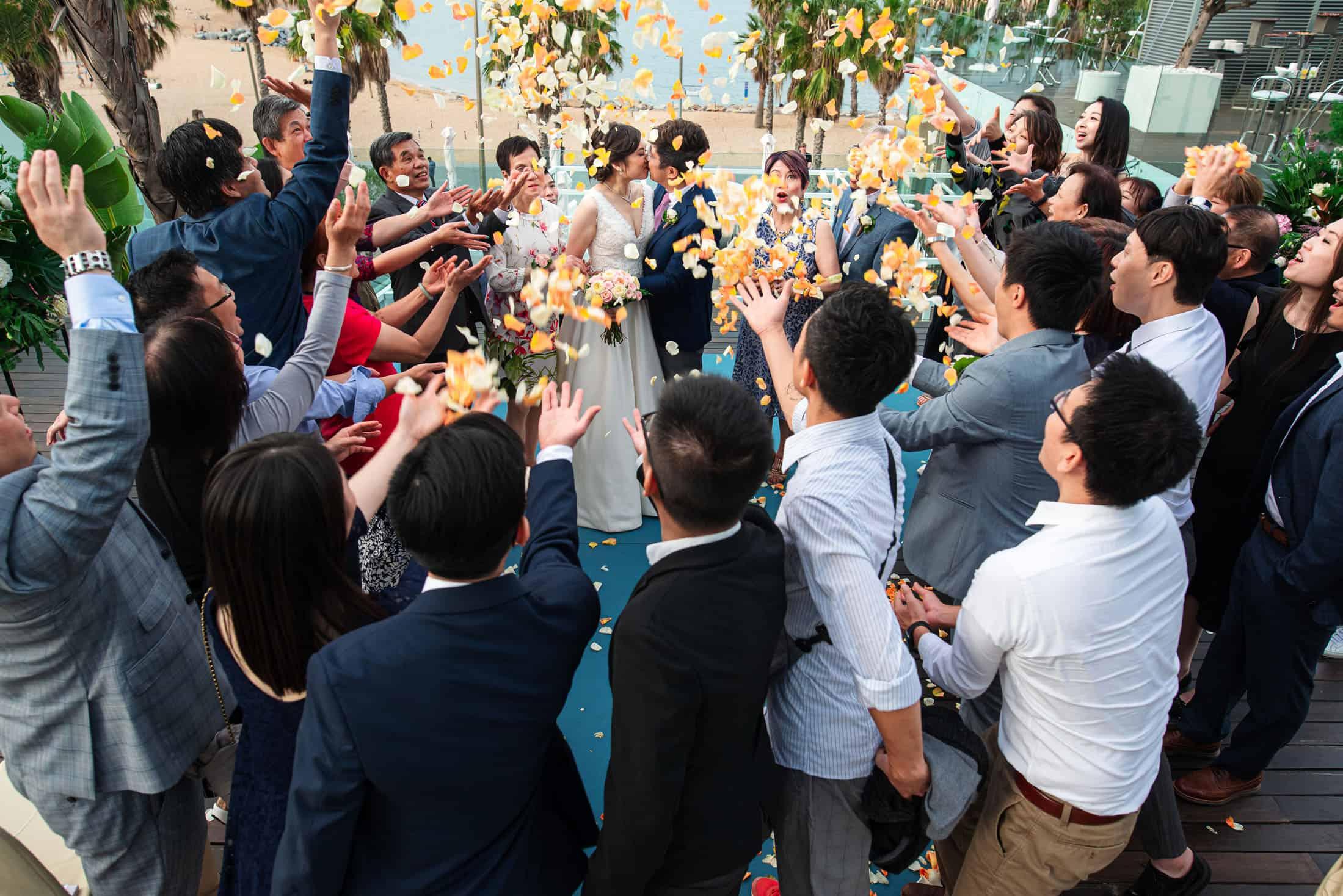 W Hotel Barcelona Wedding Photos - David & Angel, 2019